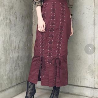 ジーヴィジーヴィ(G.V.G.V.)のお値下げ❤︎美品❤︎g.v.g.v レースアップスカート(ロングスカート)