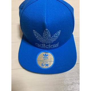 アディダス(adidas)のアディダス 帽子(キャップ) 青(キャップ)