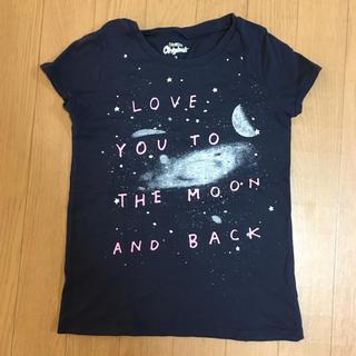 オシュコシュ(OshKosh)のオシュコシュ 7T キラキラ 宇宙 光るTシャツ130(Tシャツ/カットソー)