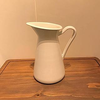 IKEA - IKEA ホーロー 琺瑯 カトラリーポット 花瓶 キッチン雑貨