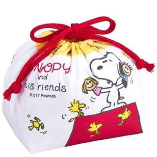 スヌーピー(SNOOPY)の新品 スヌーピー  巾着 弁当袋(ランチボックス巾着)
