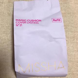 ミシャ(MISSHA)のMISSHA マジッククッションCOVER LASTING 21番 レフィル(ファンデーション)