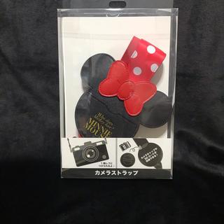 ディズニー(Disney)の新品 ディズニーストア ミニー カメラストラップ カメラ ディズニー(ネックストラップ)