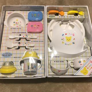 ミキハウス(mikihouse)のお値下げ☆新品☆ ミキハウス  離乳食 食器セット(離乳食器セット)