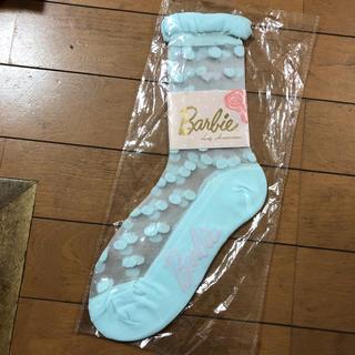 バービー(Barbie)の新品 バービー ソックス 靴下(ソックス)