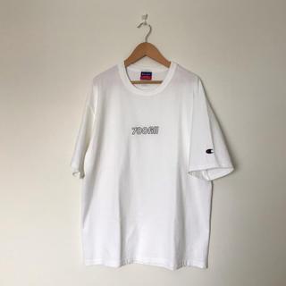 ワンエルディーケーセレクト(1LDK SELECT)の700FILL × Champion  ★  Tシャツ ホワイト(Tシャツ/カットソー(半袖/袖なし))
