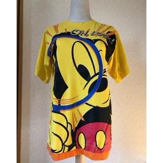 ディズニー(Disney)のDisney RESORT ミッキー Tシャツ 虫めがね  M(Tシャツ/カットソー(半袖/袖なし))