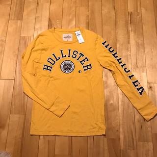 ホリスター(Hollister)の正規品 ホリスター ロンT イエロー メンズ XS 新品未使用(Tシャツ/カットソー(七分/長袖))