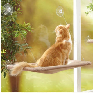 猫 ハンモック 窓 ベッド 吸盤 簡単取り付け ペット 猫グッズ ペットベッド