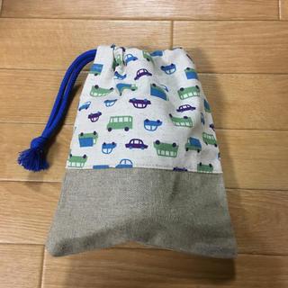 未使用 巾着袋 コップ袋 幼稚園 小学校(外出用品)