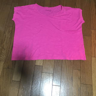 ルルレモン(lululemon)のクロップドTシャツ(Tシャツ(半袖/袖なし))