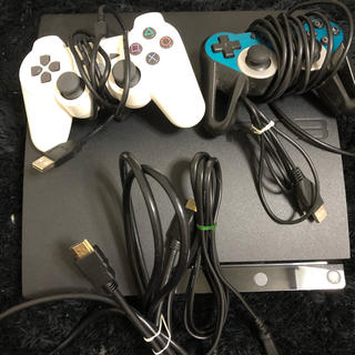 プレイステーション3(PlayStation3)のプレステ3 本体 コントローラー2つ PlayStation3(家庭用ゲーム本体)