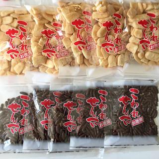 カメダセイカ(亀田製菓)のハッピーターン 5袋 & 柿の種チョコ 5袋(菓子/デザート)