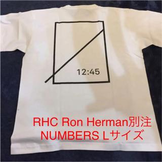 ロンハーマン(Ron Herman)の白 サイズL RHC × Numbers edition 別注 Tシャツ(Tシャツ/カットソー(半袖/袖なし))
