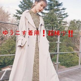 ジーユー(GU)のゆうこす あやさん着用❗完売品❗ フラワープリントワンピース M(ロングワンピース/マキシワンピース)