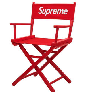 Supreme - supreme Director's Chair red 赤