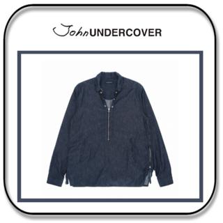 アンダーカバー(UNDERCOVER)のアンダーカバー  パッカリング脇 ハーフジップ プルオーバー  M「2」(Gジャン/デニムジャケット)