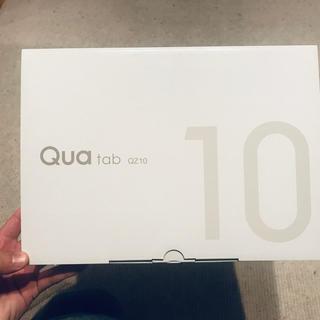 キョウセラ(京セラ)のらんく様専用 Qua tab QZ10(タブレット)
