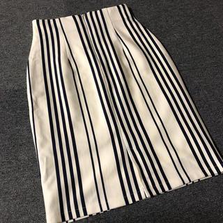 オフオン(OFUON)のタイトスカート(ひざ丈スカート)