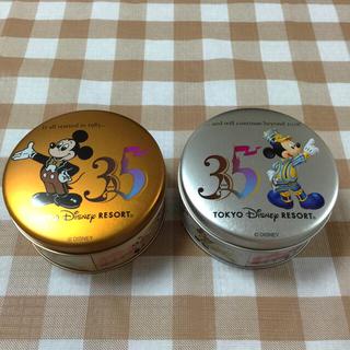 ディズニー(Disney)のディズニー35周年記念  缶(キャラクターグッズ)