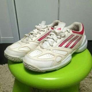 アディダス(adidas)のアディダス テニスシューズ 22.5㎝(シューズ)