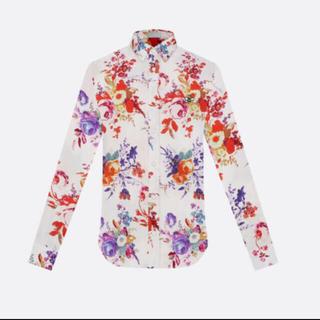19ss ディオールメン ショー シルクシャツ 39サイズ