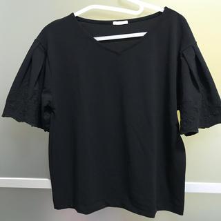 ジーユー(GU)の半袖 トップス セット 色違い 美品(カットソー(半袖/袖なし))