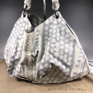 ボッテガヴェネタ(Bottega Veneta)の希少 正規品 ボッテガヴェネタ レザー ショルダーバッグ WX1-42(ショルダーバッグ)