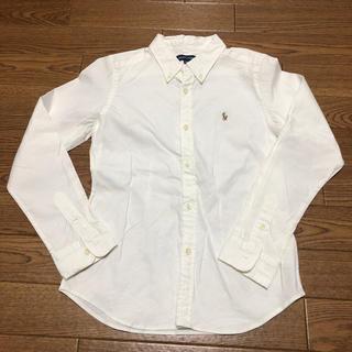 Ralph Lauren - RALPH LAUREN 140 ホワイトシャツ