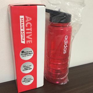 アディダス(adidas)の【新品 未使用】adidas アディダス 水筒 750ml 赤(タンブラー)