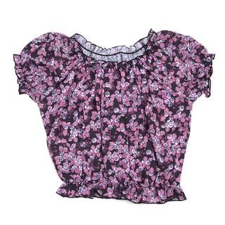 ロニィ(RONI)のRONI 花柄ブラウス(Tシャツ/カットソー)