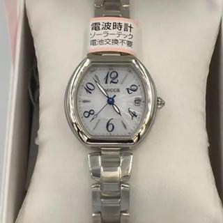 シチズン(CITIZEN)の【新品】wicca腕時計KL0-715-11SS(腕時計)