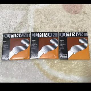 新品 ドミナント G D A線 ヴァイオリン バイオリン 弦 4/4 フルサイズ(ヴァイオリン)