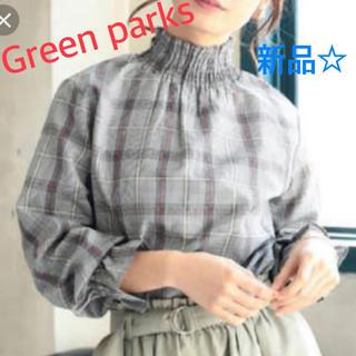 グリーンパークス(green parks)のグリーンパークス チェックシャツ(シャツ/ブラウス(長袖/七分))