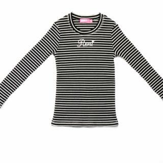 ロニィ(RONI)のroni❁︎ボーダートップス◡̈⃝︎⋆︎*125(Tシャツ/カットソー)
