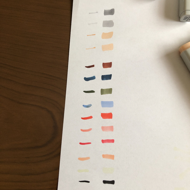 TOOLS(ツゥールズ)のコピック 15本 エンタメ/ホビーのアート用品(カラーペン/コピック)の商品写真