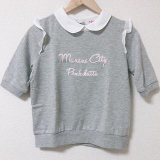 ピンクラテ(PINK-latte)のピンクラテ 襟付きトップス(Tシャツ/カットソー)