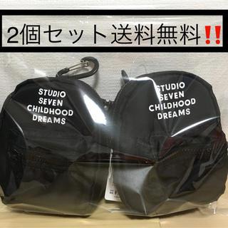 ジーユー(GU)のミニショルダーウォレットSTUDIO SEVEN GU 新品未使用 2個セット(ショルダーバッグ)
