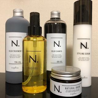 NAPUR - ナプラ N. シャン&トリ&シアオイル&バーム & セラム セット エヌドット