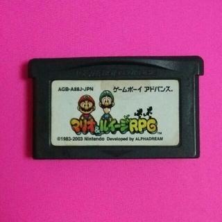 ゲームボーイアドバンス(ゲームボーイアドバンス)のGBAソフト、マリオ&ルイージRPG(携帯用ゲームソフト)