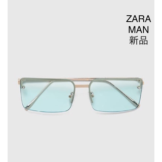 ザラ(ZARA)のZARA MAN レクタンギュラー サングラス(サングラス/メガネ)