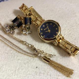 シチズン(CITIZEN)の腕時計2点セット♡未使用♡腕時計♡イヤリング♡(腕時計)