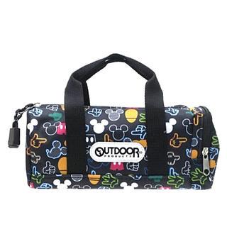ディズニー(Disney)の❤️ OUTDOORボストン型ミッキーペンケース【新品未使用】【即購入可❣️】(ペンケース/筆箱)