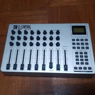 EVOLUTION U-CONTROL UC-33 midiコントローラー(DJコントローラー)