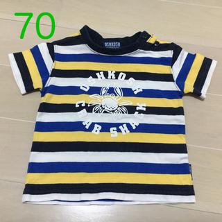 オシュコシュ(OshKosh)のOSHKOSH☆クラブTシャツ 70サイズ(Tシャツ)