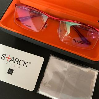 アランミクリ(alanmikli)のスタルクアイズ/STARCK EYES PL0302/レッド×クリアレッド(サングラス/メガネ)