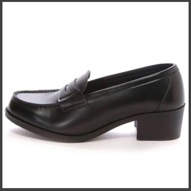 ✩JK 厚底 美脚 学生 通学靴 速乾 洗える ローファー 人気