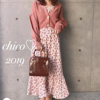 who's who Chico - 19SS最新作♡¥7452花柄ロングキャミワンピース