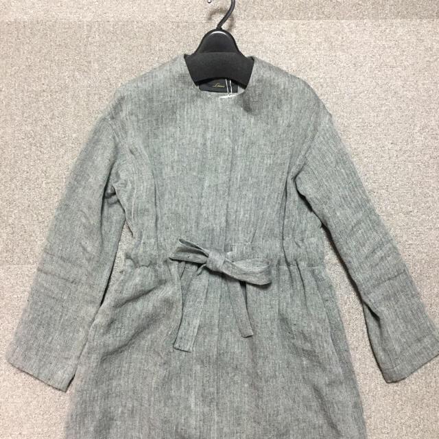IENA(イエナ)の専用商品です。リエス ウエストギャザーワンピースコート レディースのジャケット/アウター(トレンチコート)の商品写真