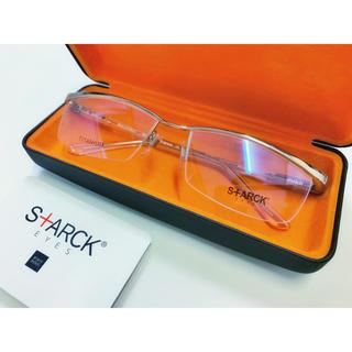 アランミクリ(alanmikli)のスタルクアイズ/STARCK EYES/PL0801/シャインシルバー×クリア(サングラス/メガネ)